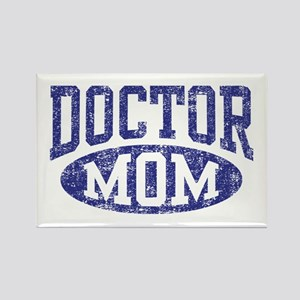 Doctor Mom Rectangle Magnet