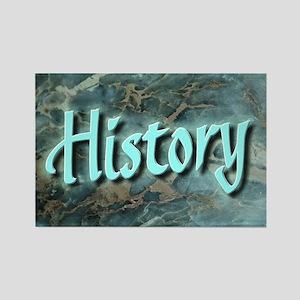 """History Teacher Web"" Rectangle Magnet"