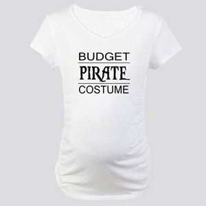 Budget Pirate Costume Maternity T-Shirt