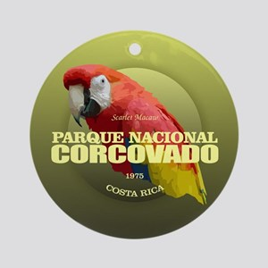 Corcovado NP Round Ornament