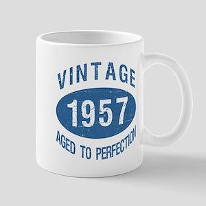 1957 Vintage Birthday Mugs