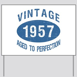 1957 Vintage Birthday Yard Sign