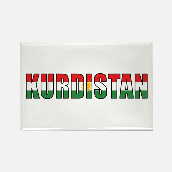 Kurdistan Rectangle Magnet (100 pack)