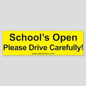 Please Drive Carefully! Bumper Sticker