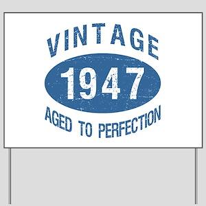 1947 Vintage Birthday Yard Sign