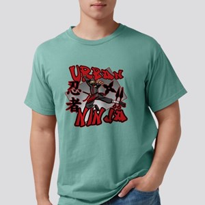URBAN NINJA-MALE Mens Comfort Colors Shirt