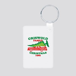 Griswold Family Christmas Tree Aluminum Photo Keyc