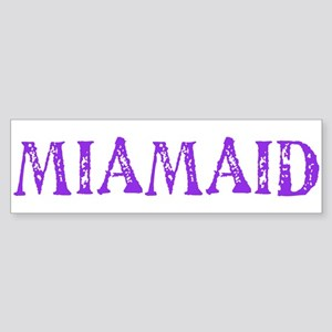 LDS MIAMAID logo Bumper Sticker