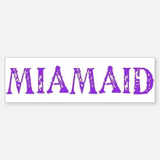 LDS MIAMAID logo Bumper Bumper Bumper Sticker