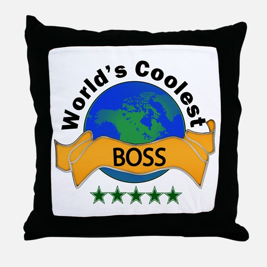 Funny Coolest Throw Pillow