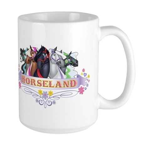 Horseland TM Large Mug