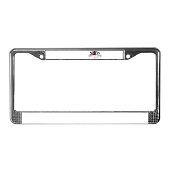 Horseland T License Plate Frame