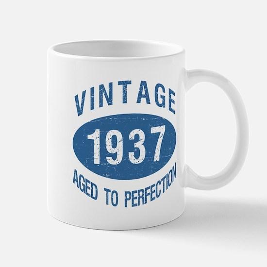 1937 Vintage Birthday Mugs