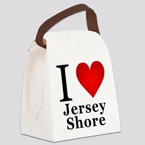 I Love Jersey Shore Canvas Lunch Bag