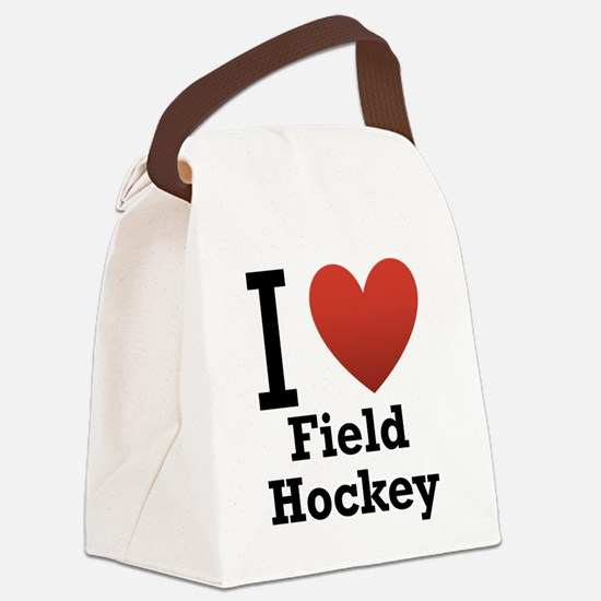 i-love-field-Hockey-light-tee.png Canvas Lunch Bag