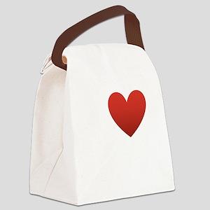 i-love-my-husband Canvas Lunch Bag