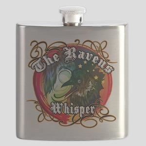 THE RAVENS WHISPER Flask