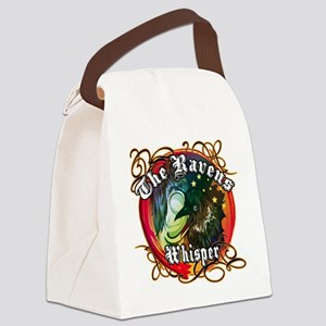 THE RAVENS WHISPER Canvas Lunch Bag