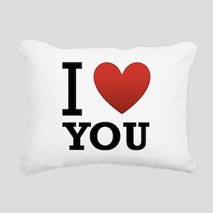 i-love-you-2 Rectangular Canvas Pillow