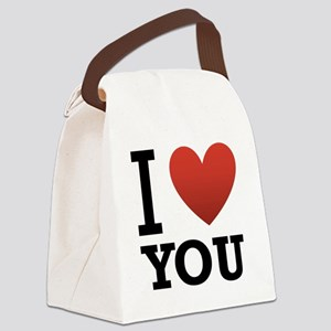 i-love-you-2 Canvas Lunch Bag