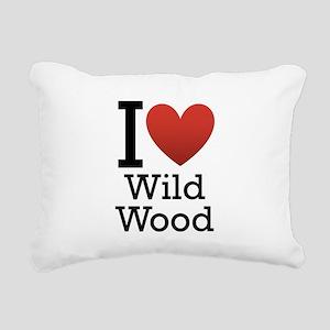 wildwood rectangle Rectangular Canvas Pillow