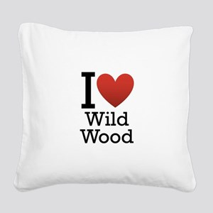 wildwood rectangle Square Canvas Pillow
