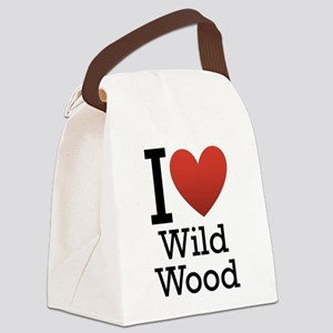 wildwood rectangle Canvas Lunch Bag