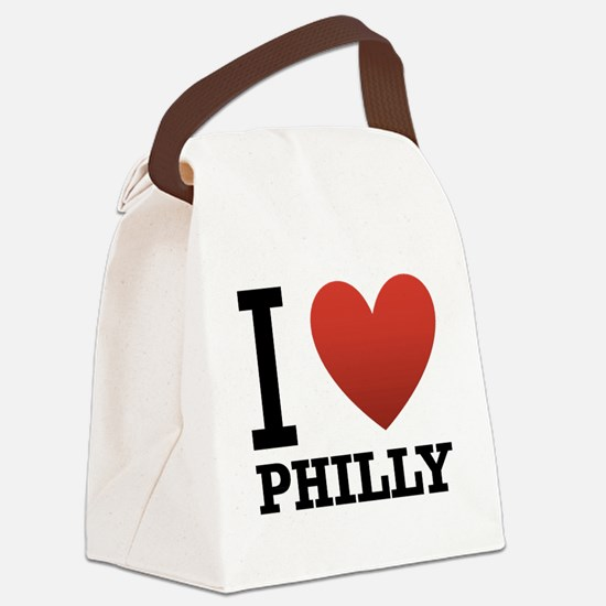 i-love-philly.png Canvas Lunch Bag