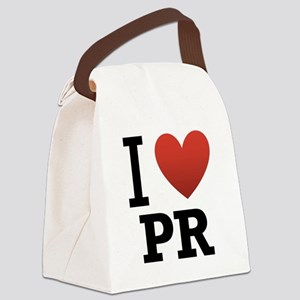 I-Love-Puerto-Rico Canvas Lunch Bag
