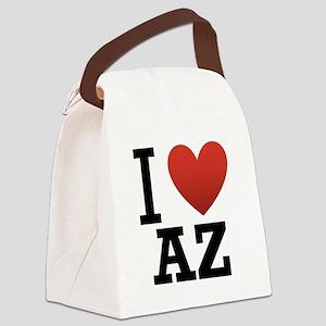 I-love-az Canvas Lunch Bag