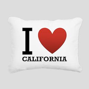 i-love-california Rectangular Canvas Pillow