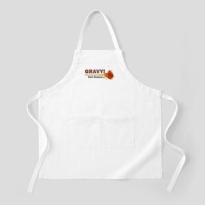Splattered Gravy Not Sauce Apron