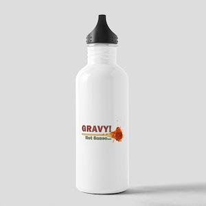 Splattered Gravy Not Sauce Stainless Water Bottle