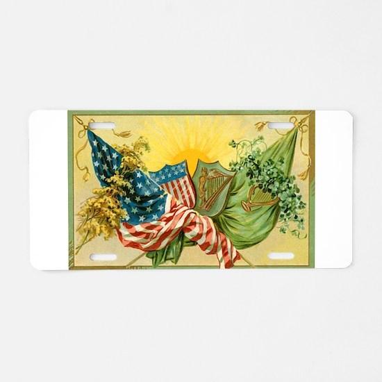 American Irish Aluminum License Plate
