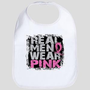 Real Men Wear Pink 1 Bib