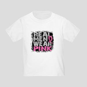 Real Men Wear Pink 1 Toddler T-Shirt