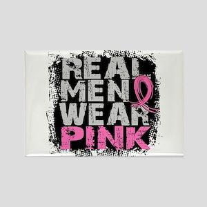 Real Men Wear Pink 1 Rectangle Magnet