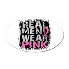 Real Men Wear Pink 1 Wall Decal