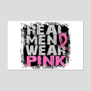Real Men Wear Pink 1 Mini Poster Print