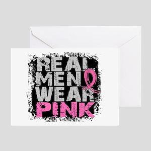 Real Men Wear Pink 1 Greeting Card