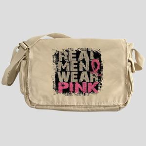 Real Men Wear Pink 1 Messenger Bag