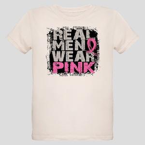 Real Men Wear Pink 1 Organic Kids T-Shirt