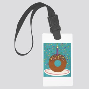 Donut Large Luggage Tag