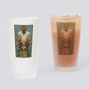 The Rower Drinking Glass