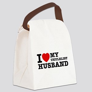 I love my Ukulelist husband Canvas Lunch Bag