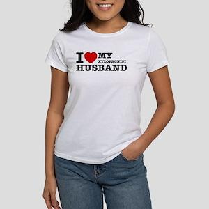 I love my Xylophonist husband Women's T-Shirt