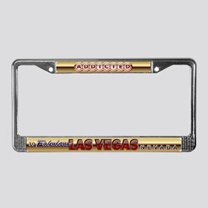 Vegas Addicted License Plate Frame