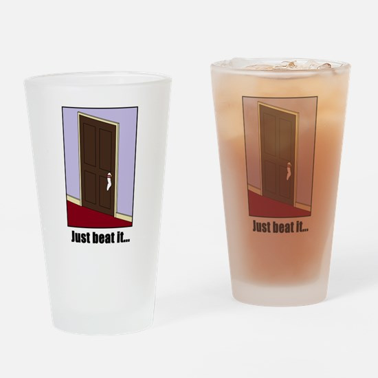 Just Beat It... Drinking / Beer Glass