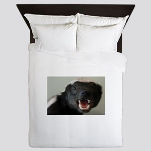 Honey Badger Queen Duvet