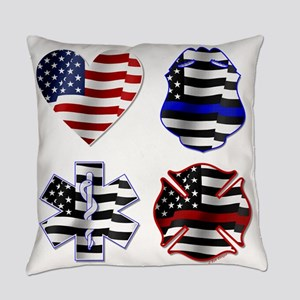Love First Responders Everyday Pillow